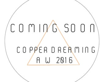 COMING SOON - A darling collection of copper inspired pieces for your home.
