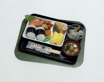 Miniature Rice ball Onigiri Meal