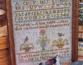 Constance Sullivan by Heartstring Samplery Counted Cross Stitch Pattern/Chart