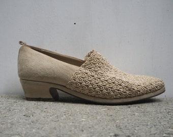 Crochet & Suede Pied a Terre Shoes