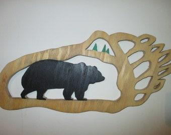 Bear Claw Wall Hanging