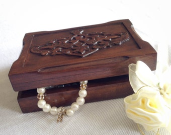 wooden jewellery box, wooden jewelry box,wooden box, woodcarving box,Jewelry storage box, woodcarving, wood box, wood carving