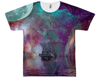 Pirate Dreams (All over print) Tshirt