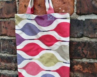 Mini spring and summer inspired tote bag
