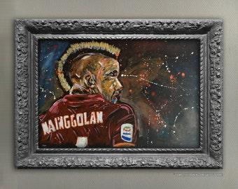 Nainggolan Acrylic Painting Canvas Board