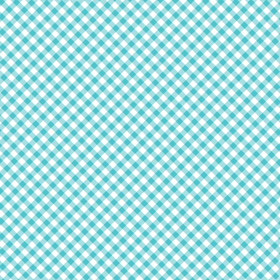 Blue Gingham Check- Quilt Camp Collection