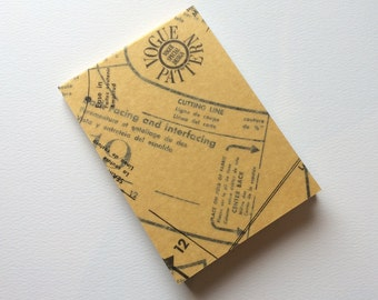 Sewing Pattern Notebook : Small