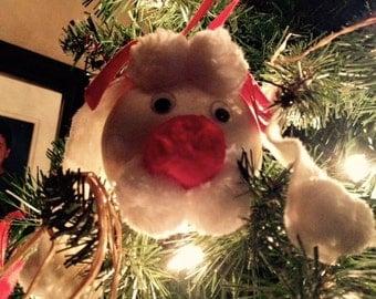 Poodle / Puppy Ornament