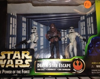 Star Wars Collectible Action Figures- Death Star Escape