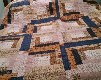 Quilts and appliqued Rug
