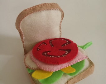 Felt sandwich set 100% hand made