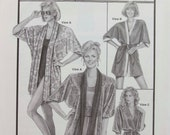 Ann Person Collectibles Stretch and Sew Pattern - Wrap Kimonos # 2074 - Sewing Pattern