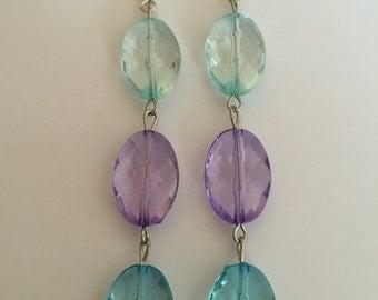 3 droplet Earrings