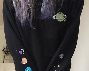 Alien outer space saturn jumper
