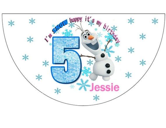 Disney Frozen Olaf Birthday Party Hats