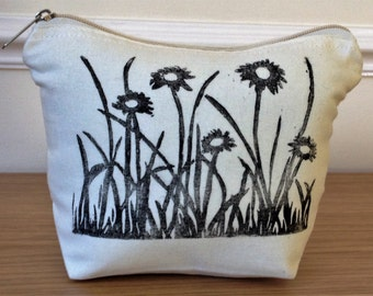 Daisy Zip Bag