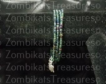 Turtle Sea Charm Memory Bracelet