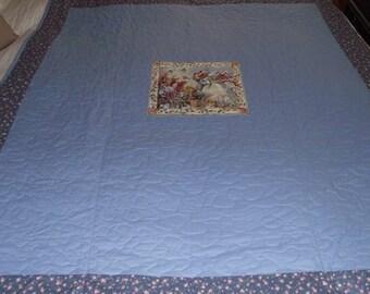 Stunning Quillo Quilt 124cm x 138cm quilt in 100% cotton fabrics.