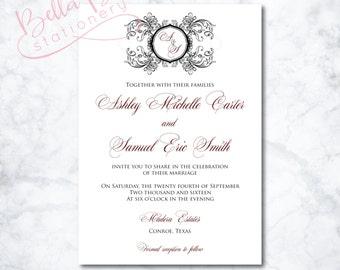 Felicia Wedding Invitation Design