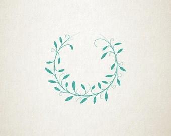 Laurel Wreath Illustration! Ready to go!