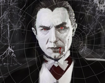 Bela Lugosi as Dracula by Mikey Sevier