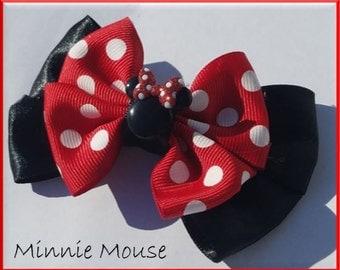 Minnie Mouse Charm Bow