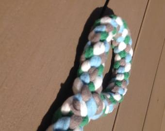 tug for dog fleece Tug ring / toy / agility / flyball