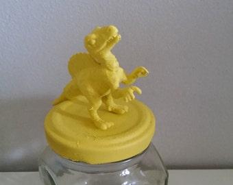 Jar/Inkwell baby yellow dinosaur