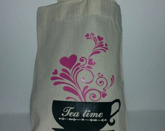 Tea party goodie bag