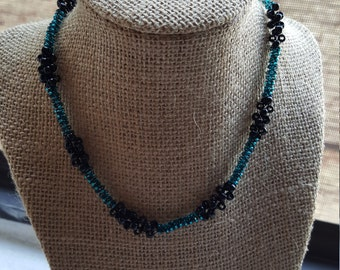 Beaded peyote stitched Necklace