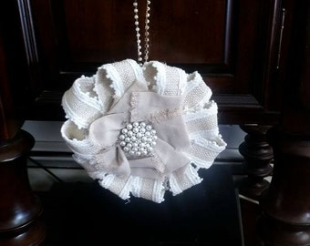 Pearl Flower Ornament