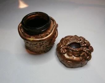 Gold Dragon Eye Jar