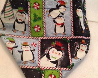 Penguin/Let It Snow Reversible Bandana