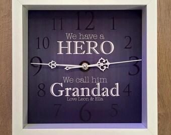 Clock - We have a Hero we call him Grandad