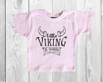 T-Shirt - Little Viking In Training - Little Viking Shirt - Viking Tee - Viking in Training - In Training Tee - Lil Viking - Viking Shirt