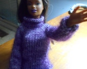 Purple Turtleneck for Barbie