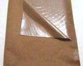 HALF OFF Brown PUL Fabric Polyurethene Laminate Fabric