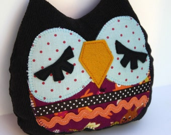 Stuffed Owl -Dawn the Owlet pillow- owl pillow, owl toy,owl plush,stuffed owl toy,owl throw pillow,owl cuddly toy,owl stuffed,nursery decor