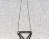 Diamondhead Necklace in sterling silver