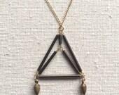 Inverted Diamondhead Necklace