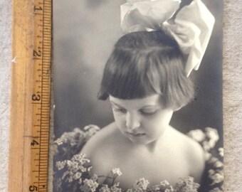 Vintage Photo Little Girl