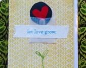 Let Love Grow Card 3