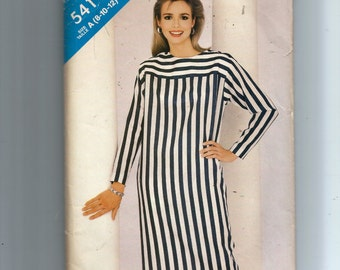 Butterick Misses' Dress Pattern 5411
