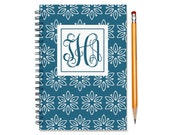 2017 2016 planner, weekly planner, personalized agenda calendar, 12 month schedule with monogram, 2016-2017 planner book, SKU: pliwhtflm