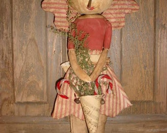 Pattern Primitive Snow Angel Doll epattern
