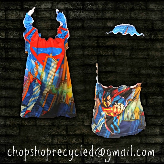 Killer Graphic Halter Fits girls as a dress, tween as tunic and womens small as a halter top