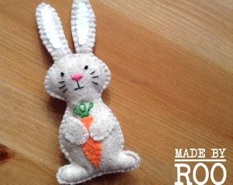 Woodland Babies Magnets-Rabbit