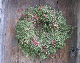 PEPPERBERRY WREATH dried flower   WReATH  large size