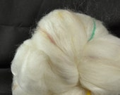 CLEARANCE Yarn Hollow Ghost Batts a Potluck of Natural Fiber - Spin and the Dye for a Great Surprise! No. 5-2