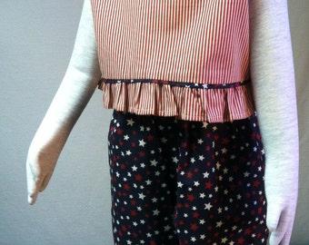 Girls patriotic Americana pant set size 4